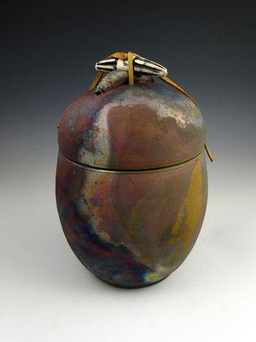 Raku Urns for Ashes | ... Funeral Cremation Urn | Handmade Cremation Urns For Ashes | ARTISURN