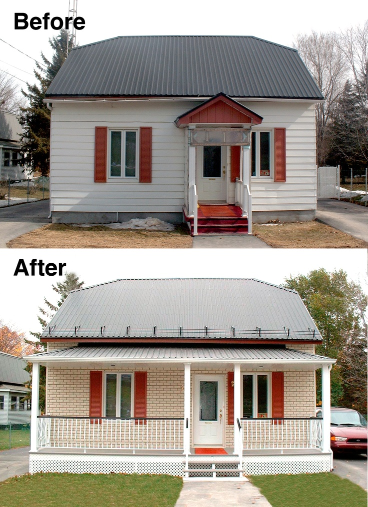 Before After Quick fixer upper with NoviBric HL from Novik  Made from  polymer. 7 best Before After images on Pinterest   Cedar shakes  Curb