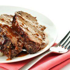 Mom's Teriyaki Meatloaf