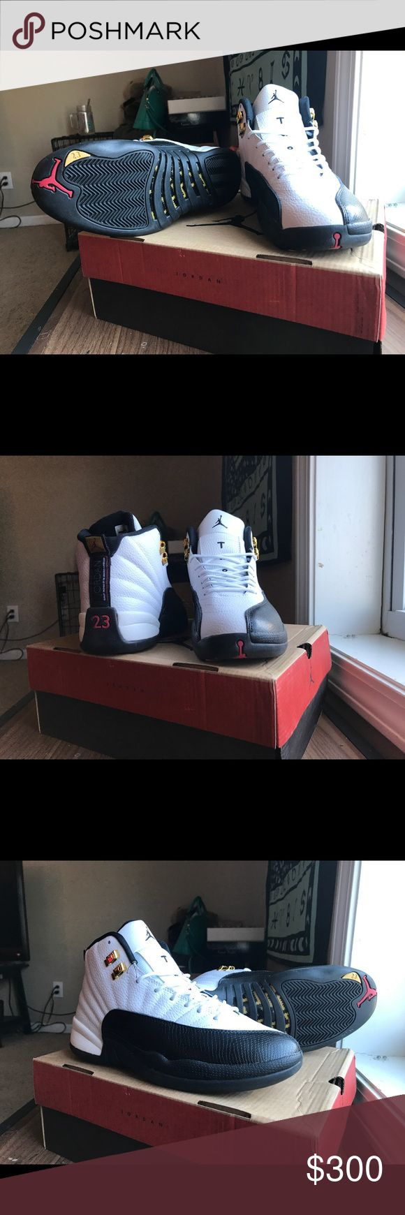 Air Jordan retro 12 taxi OG all men's Men's size 9.5 OG all never worn perfect condition hard to find make me an offer Air Jordan Shoes Athletic Shoes