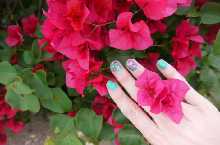 Spring, Flowers & St. Patrick's Day Nails