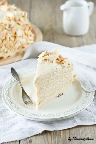 Gâteau multi couches,  à la crème au lait concentré sucré - Condensed milk layered cake