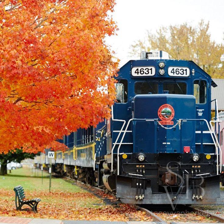 Hop on the Blue Ridge Railway