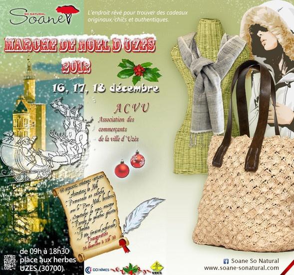 Rendez vous à Uzès du16 au 18 décembre !