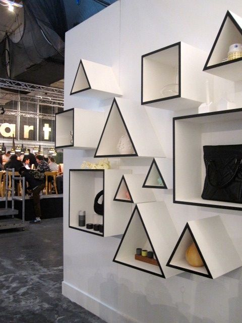 "F.A.O display at ""London's Design Junction Exhibition"", UK, pinned by Ton van der Veer"