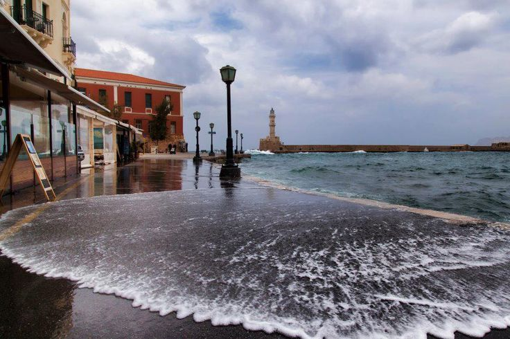 Crete, Chania at winter