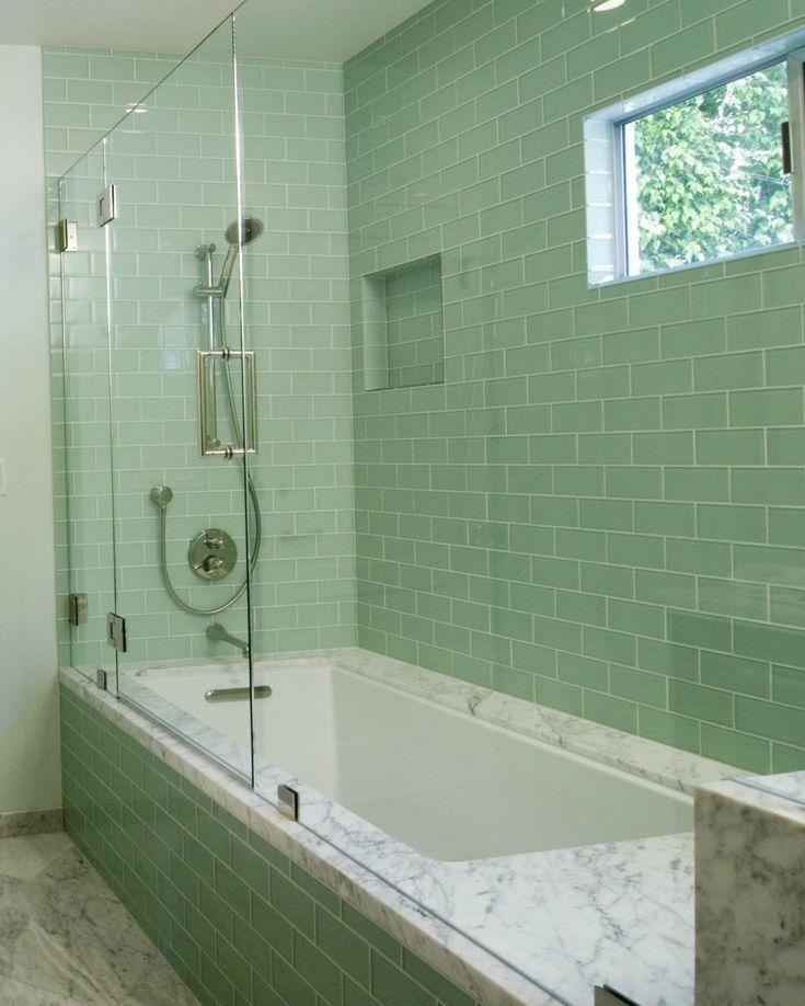 Bathroom Tile Ideas Green best 25+ green bathroom tiles ideas on pinterest | blue tiles