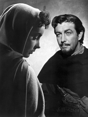 Ivanhoe, Elizabeth Taylor, Robert Taylor, 1952