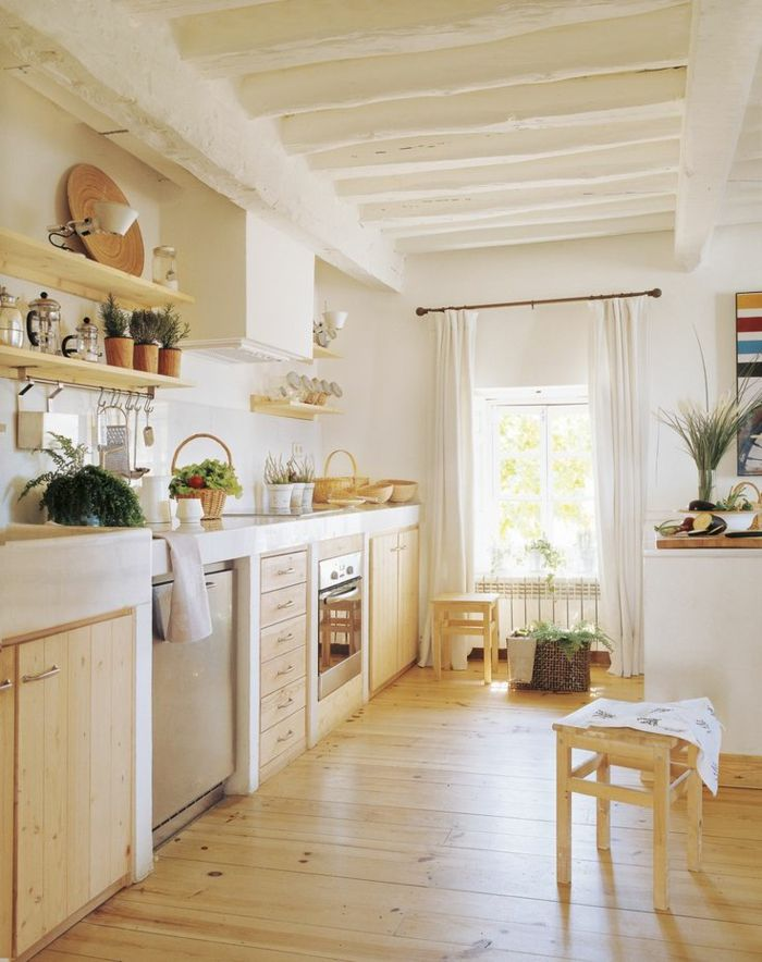 Customiser cuisine rustique fabulous dans cette cuisine - Customiser cuisine rustique ...