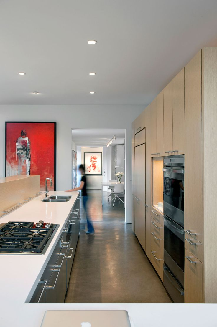 Cosmo condo kitchen showroom paris kitchens toronto - Levin Residence By Ibarra Rosano Design Architects