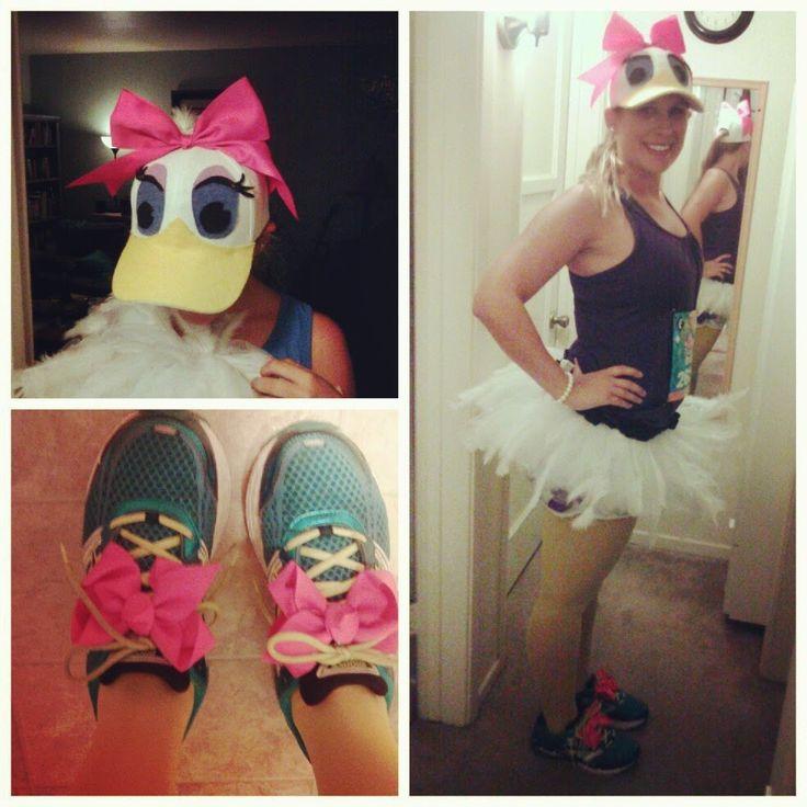 Daisy Duck Running Costume. Gabby Rose Runs: Disneyland Half Marathon Race Recap