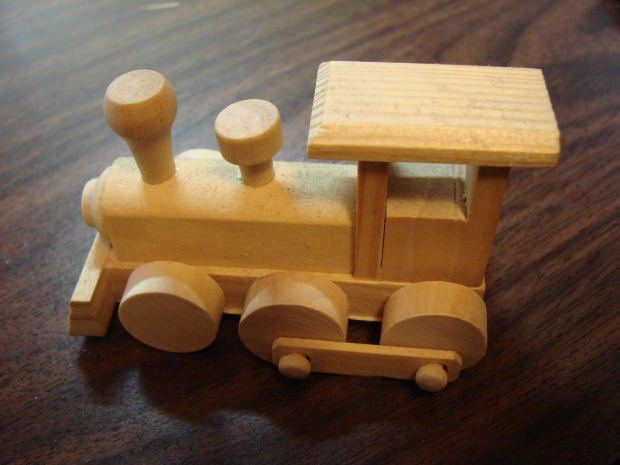 Free Wooden Toy Train Patterns - Downloadable Free Plans