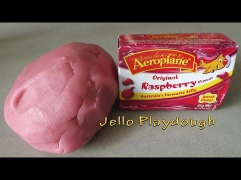 Jello Playdough ♥ How to Make Easy DIY Homemade Playdough with Jello / Jelly  Jello Playdough,Playdough Recipe,play doh,play dough,recipe for playdough,playdough,how to make playdough,making playdough,cooked playdough recipe,easy playdough recipe,playdough recipe for kids,play doh recipe,homemade playdough,playdough recipe,ZealousCookie,Do It Yourself (Website Category),Jell-O (Invention),how to,How to make,Homemade,Homemade Playdough