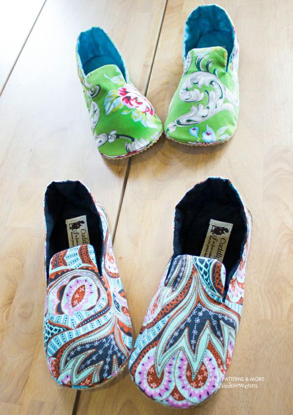 Mason Women's Shoes PDF Pattern
