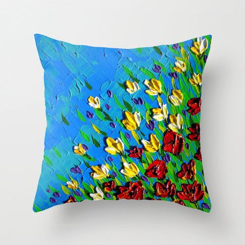 cushion cover, birthday present for mom, gift for mom, Christmas present for aunt, Christmas present for niece, bright homewares, art prints