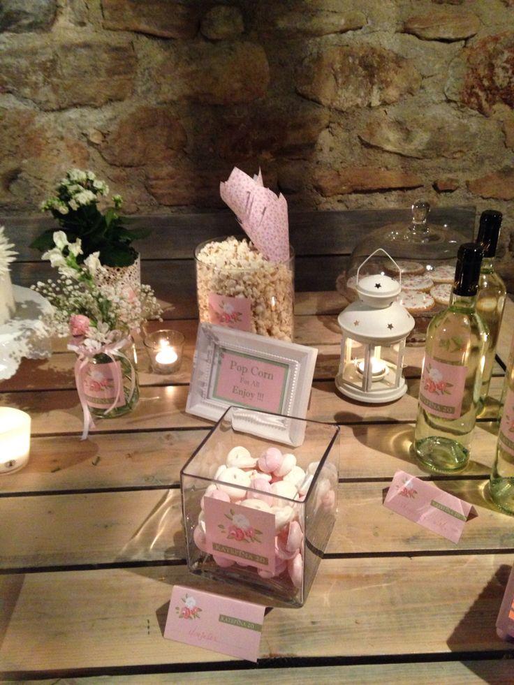 Candy Bar , vintage roses