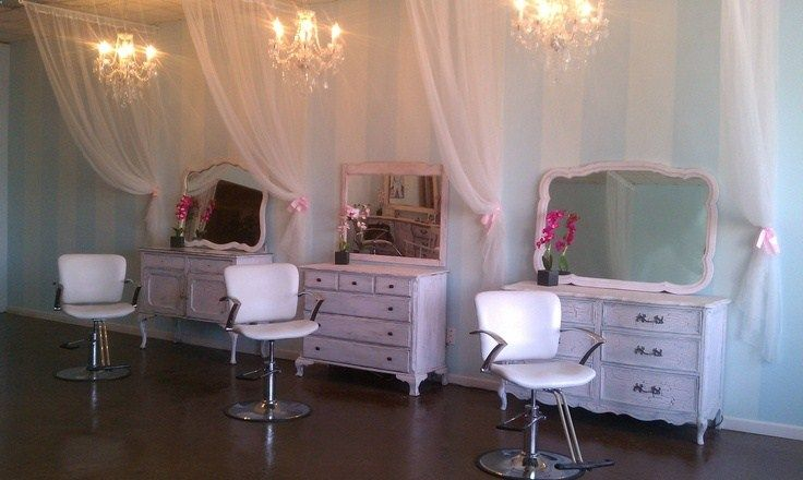 I used old dressers for stylist stations in my salon. Salon Envy in Waxahachie, Tx. If you want to see more salon ideas u can like our page on FB @ salon ENVY (official page).