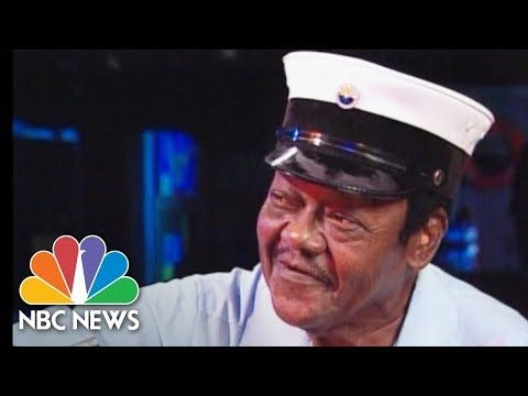 Brian Williams Interviews Musician Fat Domino After Katrina In 2006 | NB...