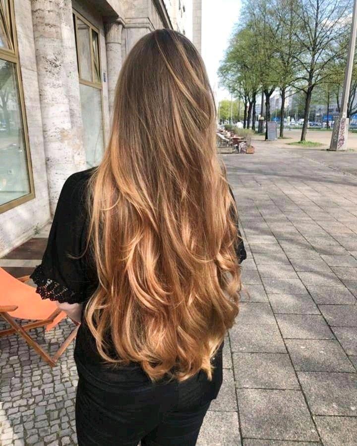 Super Long Layers Haircut Idea