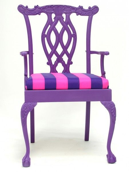 Giant Purple Dining Chair