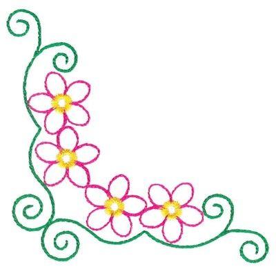 30 best images about corner borders on pinterest floral