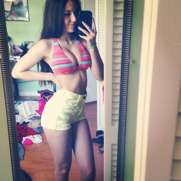 Angie varona dirty pics excited too