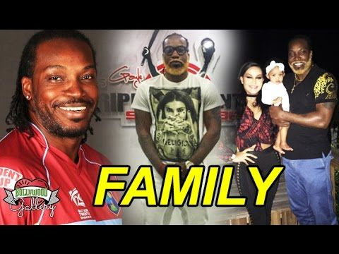 Chris Gayle Family With Parents, Brother, Wife and Daughter Photos