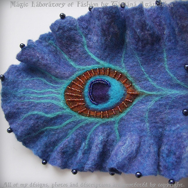 Love this = Peacock Feather Art