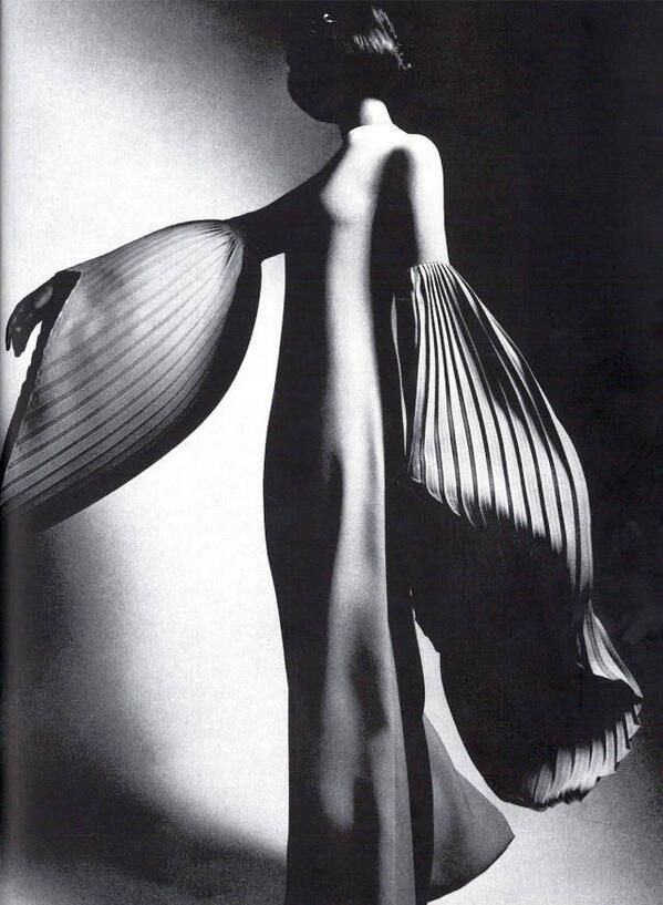 What is chic, what is fashion? from a 1970 issue from Harper's Bazaar Photographed by Guy Bourdin