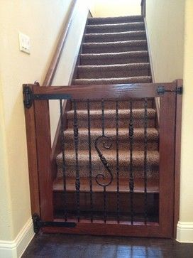 Custom baby gates - spaces - austin - Chris Duncanson custom carpentry and remodeling