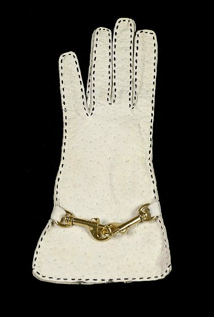 Bonnie Cashin  Gloves ( Crescendoe Gloves, Inc.) - American 1970–74  Leather, metallic