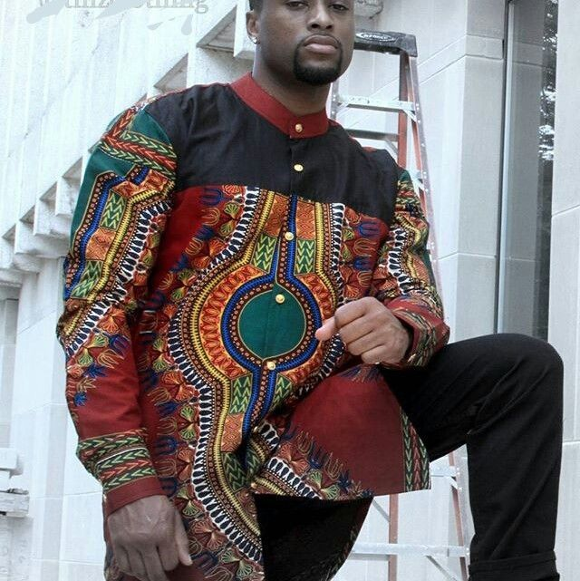 Dashiki Shirts for Men, Ankara Shirt, Dapper Dashiki Top, Dashiki Dress, African