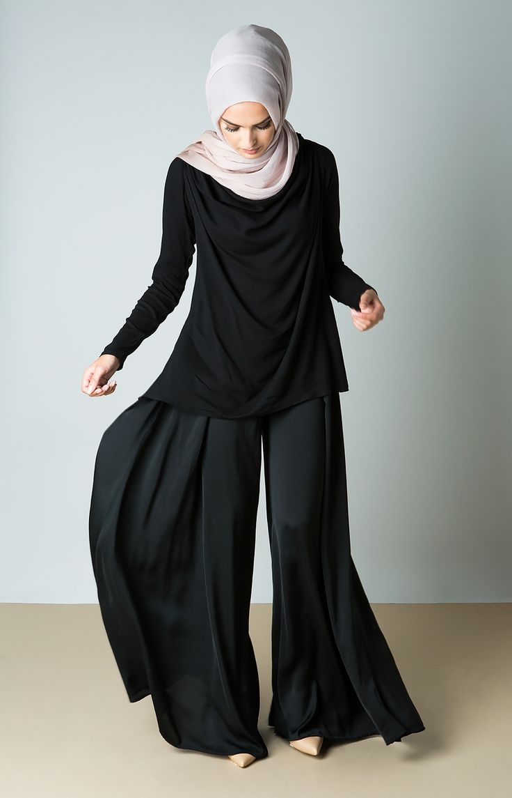 Aab Flare Trousers Black