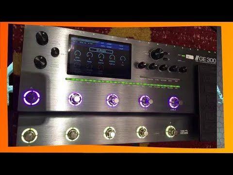 mooer GE 300 multieffects - YouTube   Mooer GE300