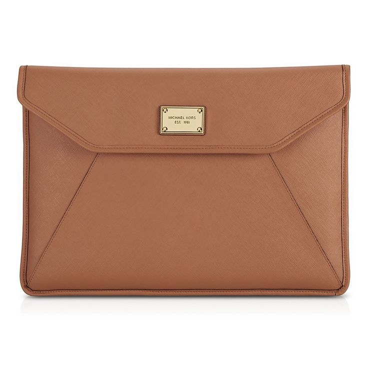 """Michael Kors Macbook Air 11"""" Sleeve/Clutch - Luggage"""