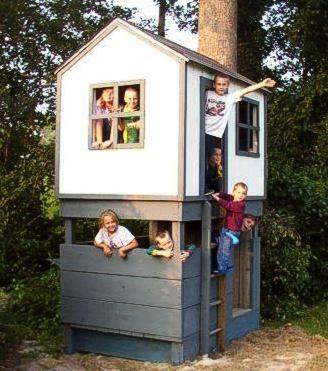Playhouse Plans - Play House Blueprint | Playhouse BluePrints | Do It Yourself