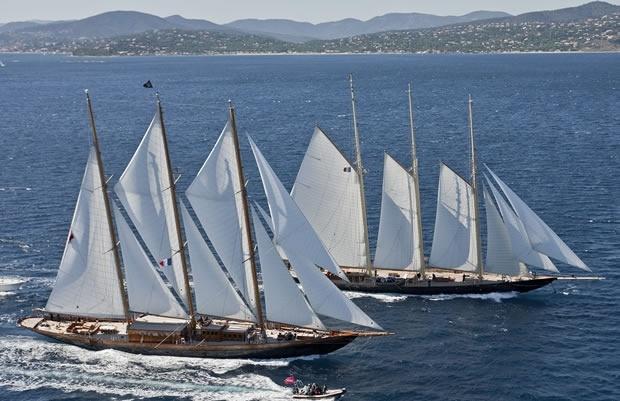 Staysail schooner Vs Gaff rigged Topsail schooner | Compassion & Love in 2019 | Wooden ...