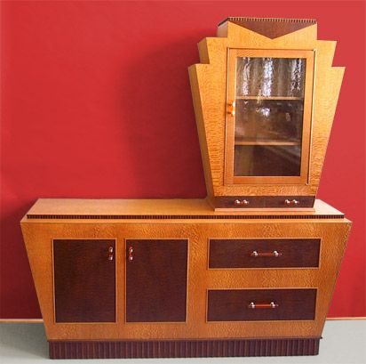 art deco furniture. art deco display cabinetbuffet i want this as a vanitydresser furniture