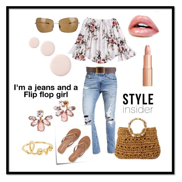 """Kickin' it"" by klm62 ❤ liked on Polyvore featuring Abercrombie & Fitch, Post-It, Aéropostale, Oliver Peoples, Cappelli Straworld, Frame, Marchesa and Sydney Evan"