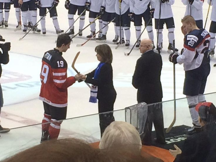 Petan player of the game #Canada #WJHC2015