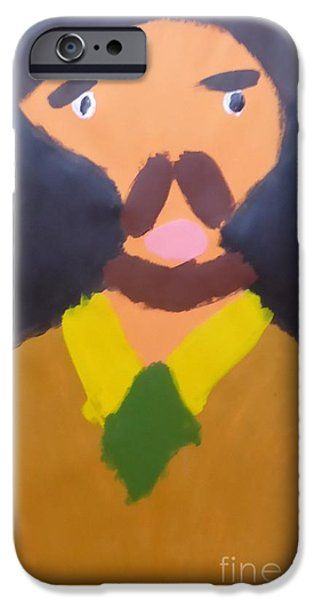 Patrick Francis IPhone Case featuring the painting Portrait Of Eugene Boch 2015 - After Vincent Van Gogh by Patrick Francis