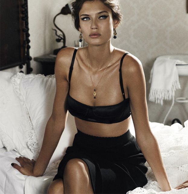 Bianca Balti for Dolce & Gabbana