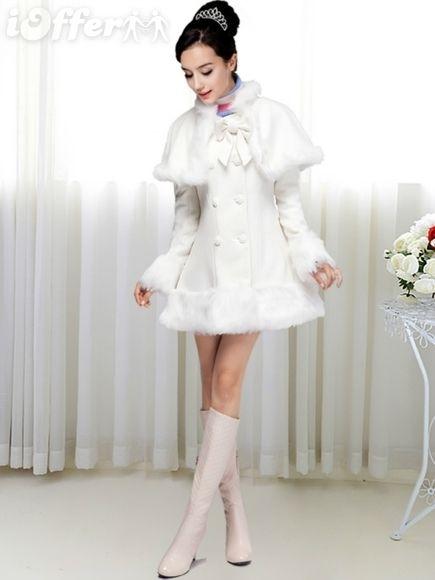 Womens Wool Dress Winter Jacket Coat Trench Outwear for sale