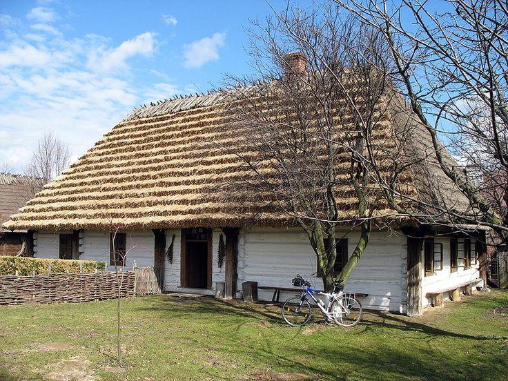 Typical Podkarpackie home, Poland / Ukraine