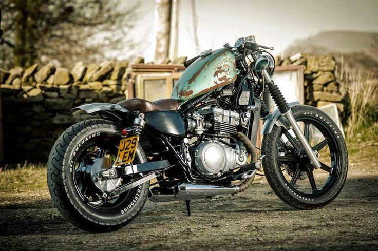 hellkustom:  More pics here: http://www.hellkustom.com/2015/04/kawasaki-en500-by-dust-motorcycles.html   Kawasaki en500 by dust motorcycles