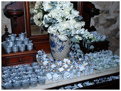 Celebrations In The Catholic Home Blue Baptism Decorations Idea Catering Pinterest