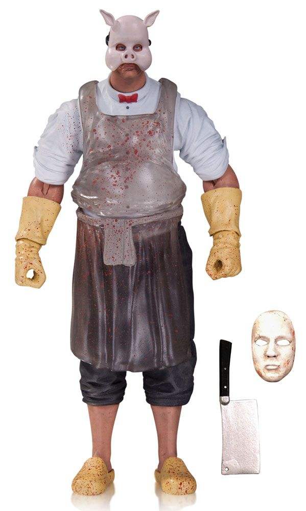Batman Arkham Knight figurine Professor Pyg DC Collectibles