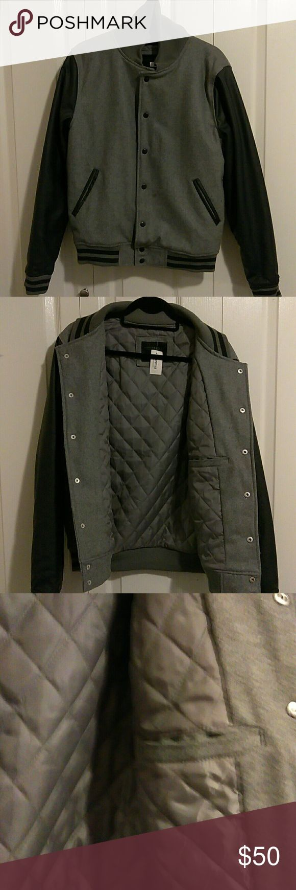 Men's varsity jacket Never worn, great condition, still has price tag Aeropostale Jackets & Coats