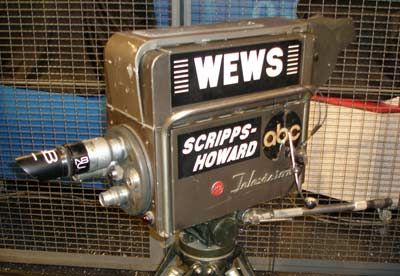 Old WEWS Channel 5 Scripps Howard TV camera