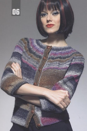Жакет из Noro Catwalk 2 - Елена Антонова - Веб-альбомы Picasa
